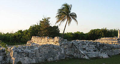 El Rey sitio arqueológico en Cancún